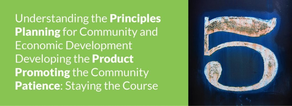 The 5Ps of Community and Economic Development