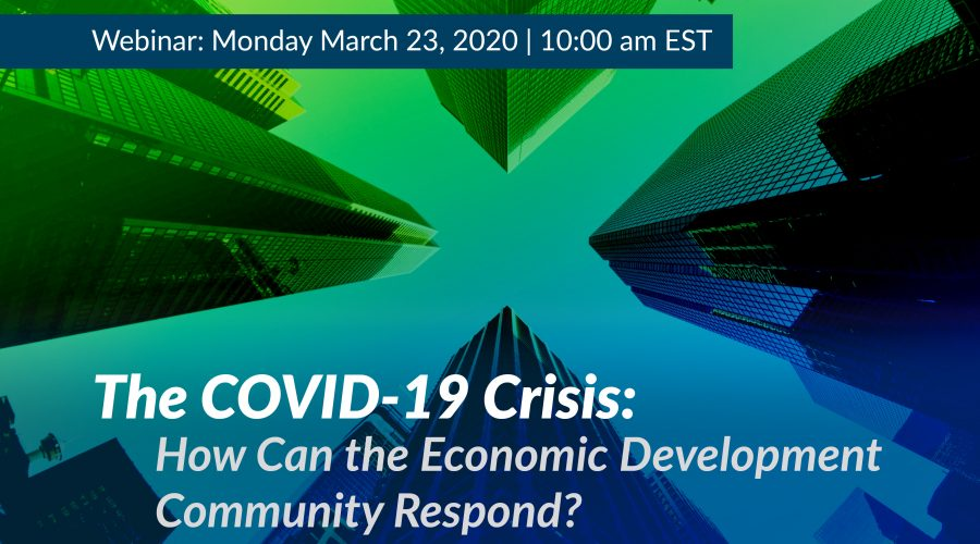 COVID-19 and the Economic Development Community